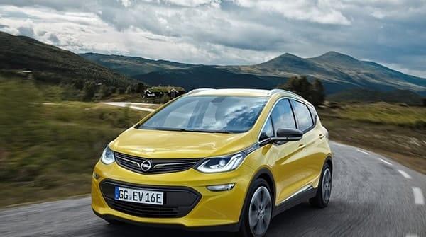 Volledig Elektrische Auto Met 500 Kilometer Actieradius Lease