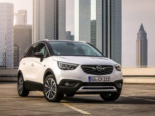 Vanafprijs Opel Crossland X blijft onder 20.000 euro