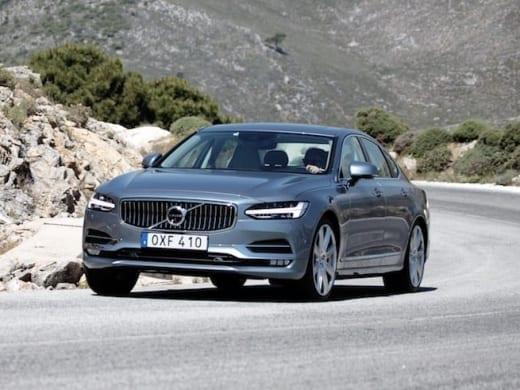 Volvo S90 krijgt een business upgrade